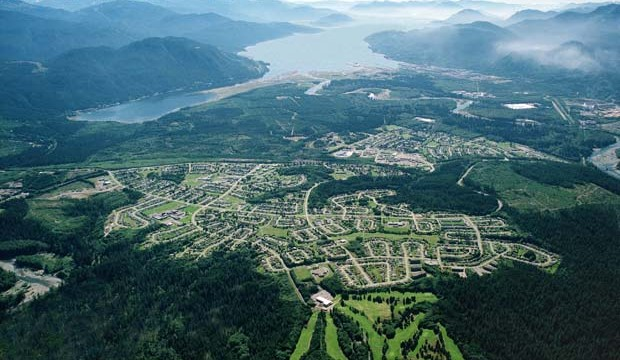 >Kitimat's residential community — home to about 9,000 people — is located 11 kilometres away from its large industrial base, which includes an aluminum smelter operated by Rio Tinto Alcan that employs about 1,000.